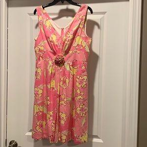 Lilly Pulitzer, 10, pink sleeveless cotton dress
